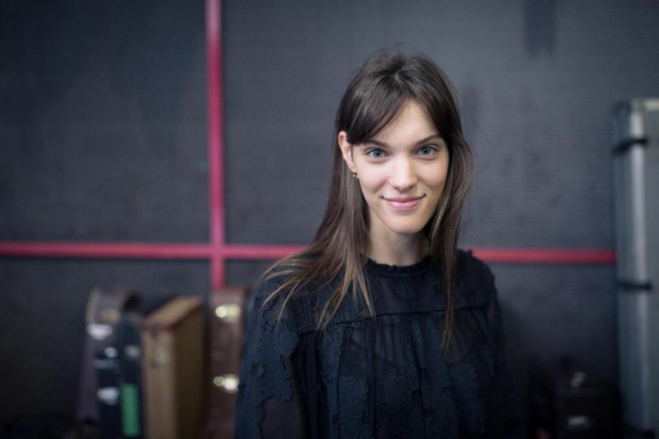 La chanteuse Charlotte Cardin lance aujourd'hui quatre chansons... (PHOTO EDOUARD PLANTE-FRÉCHETTE, archives LA PRESSE)