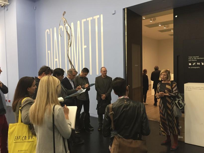 La rétrospective consacrée àAlberto Giacometti, présentée jusqu'à dimancheau Tate Modern,... | 2017-09-06 00:00:00.000