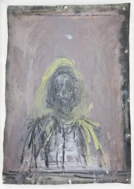 Alberto Giacometti,  Annette , 1952. Huile sur toile, 57 x 43 cm  | 6 septembre 2017