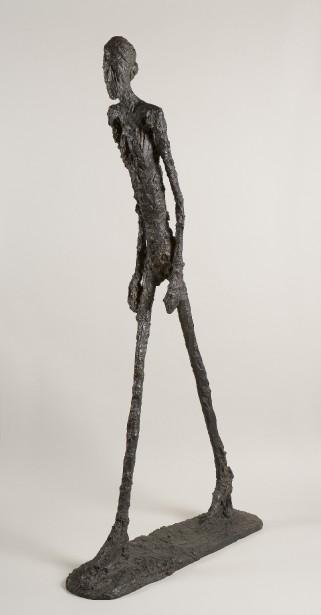Alberto Giacometti,  Homme qui marche , 1960. Bronze, 180,5 x 27 x 97 cm  | 6 septembre 2017