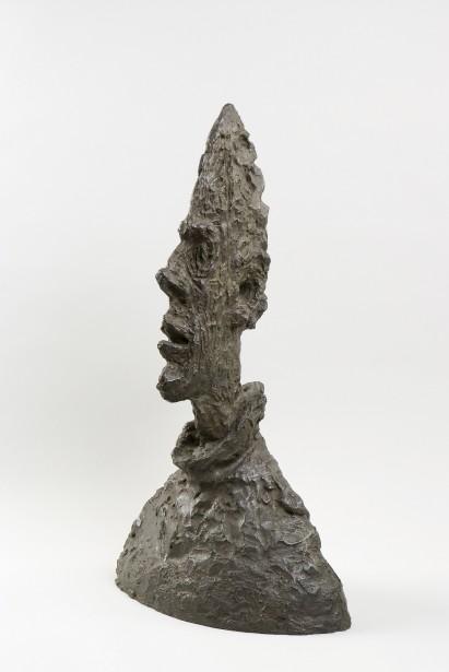 Alberto Giacometti,  Grande tête mince , 1954. Bronze, 64,5 x 38,1 x 24,4 cm  | 6 septembre 2017