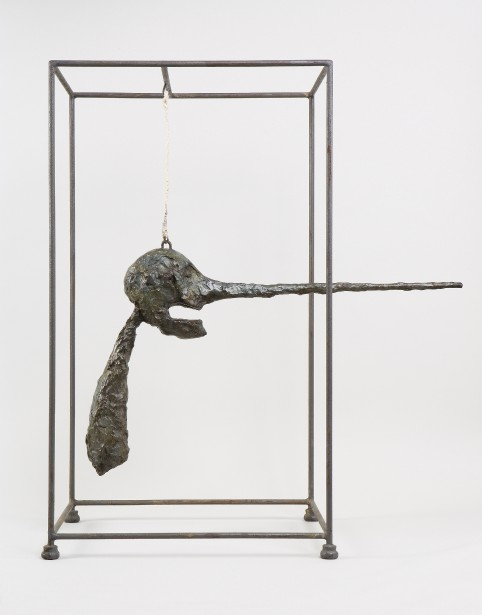 Alberto Giacometti,  Le Nez , 1947. Bronze, 80,9 x 70,5 x 40,6 cm  | 6 septembre 2017