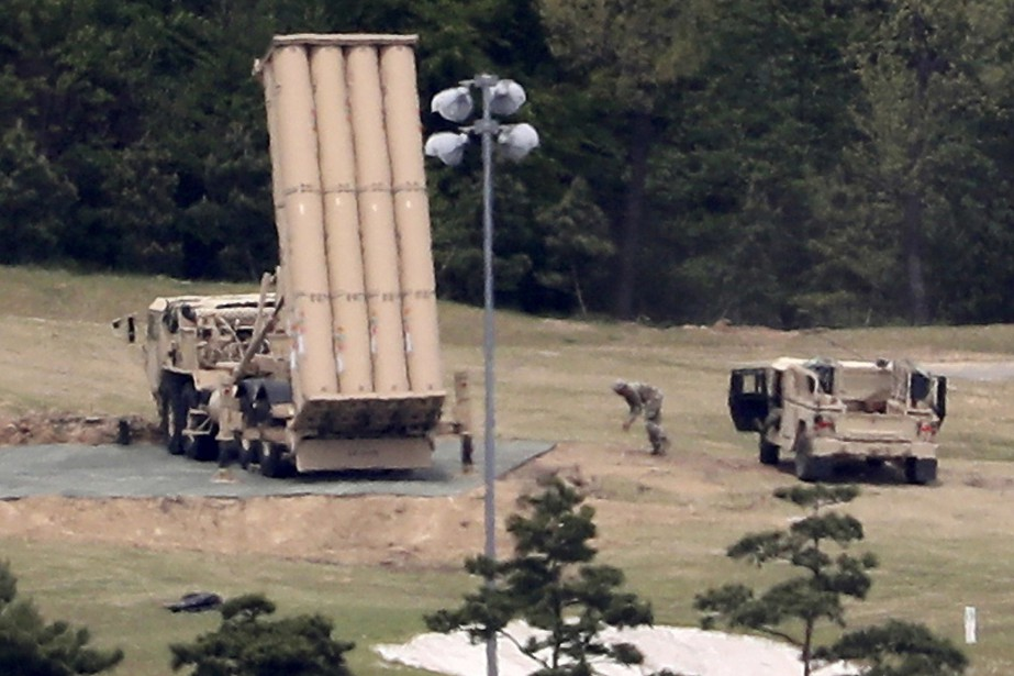 Les États-Unis ont déployé cette année en Corée... (ARCHIVES AP)