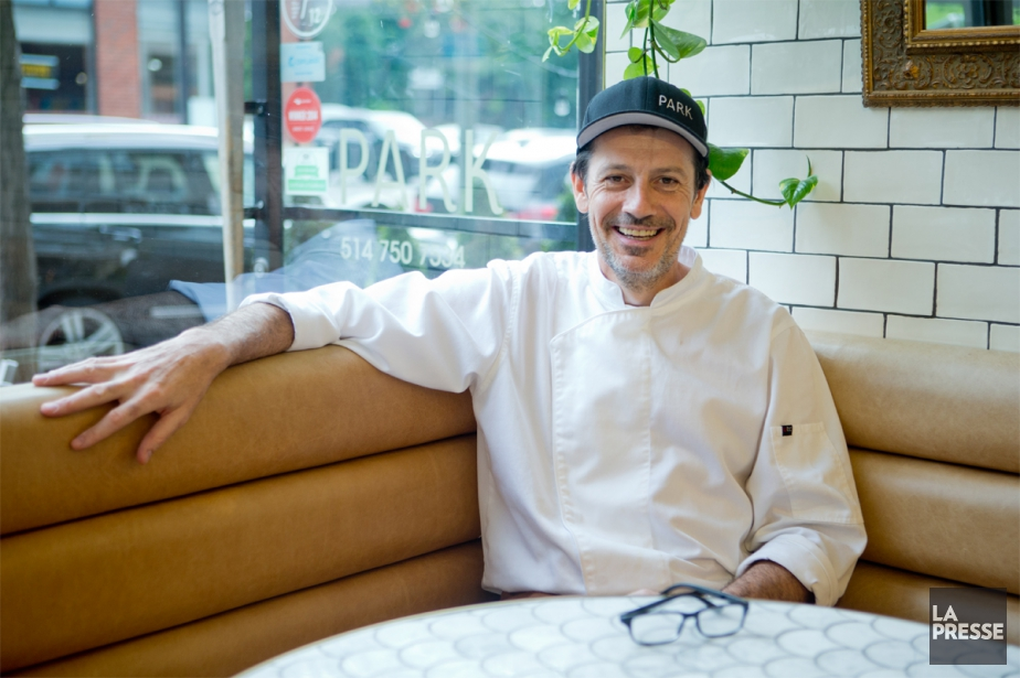 Le chef pâtissier Bertrand Bazin prend la pause... (PHOTO DAVID BOILY, LA PRESSE)