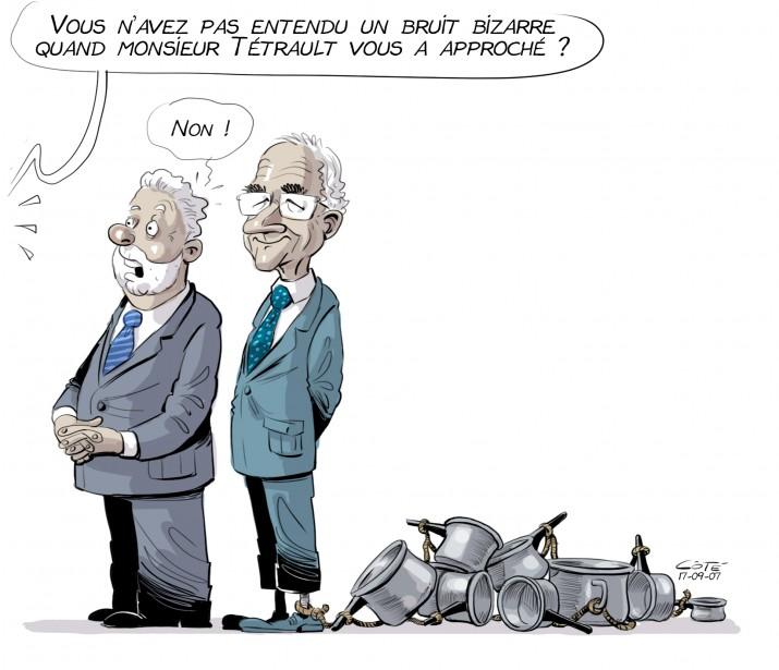 Caricature du 7 septembre | 6 septembre 2017