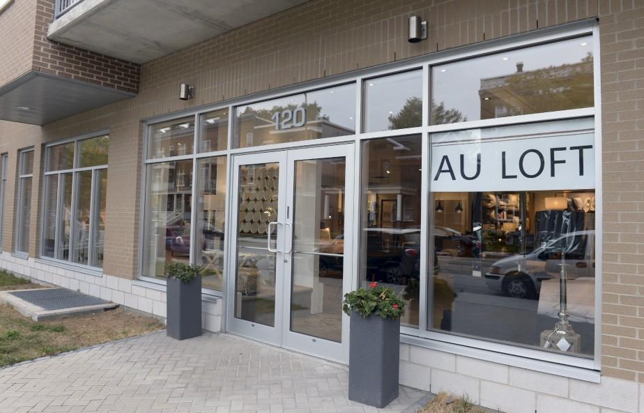 La vitrine de la boutique maintenant installée dans le quartier Montcalm (Le Soleil, Jean-Marie Villeneuve)