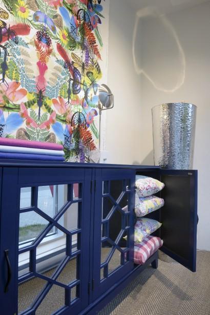 Literie, meubles, tapis, luminaires et accessoires composent la marchandise d'Au Loft, appelée à se bonifier dans les prochains mois. (Le Soleil, Jean-Marie Villeneuve)