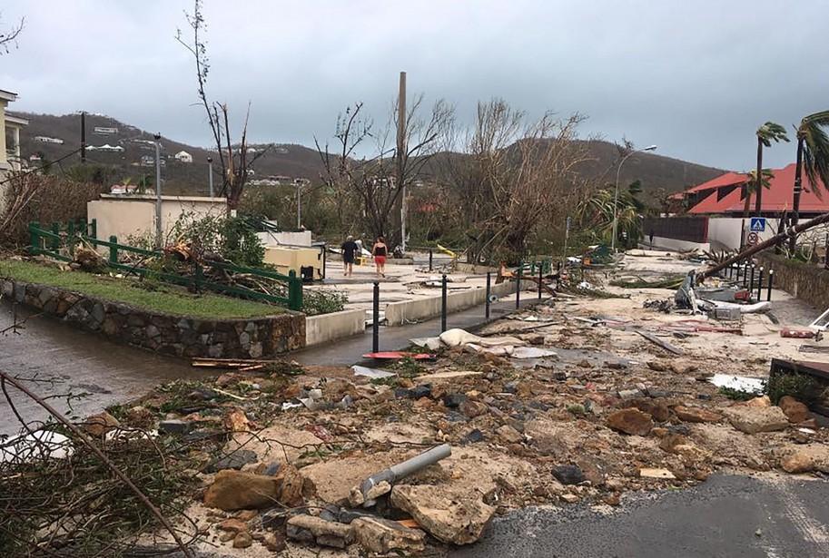 Saint-Barthelémy, 7 septembre 2017. (AFP)