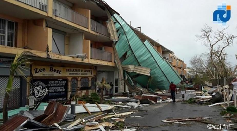 Saint-Martin, 7 septembre 2017. (AFP)