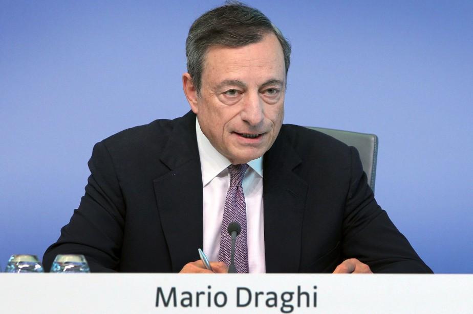 Comme attendu, l'institution monétaire de Francfort a gardé... (AFP)