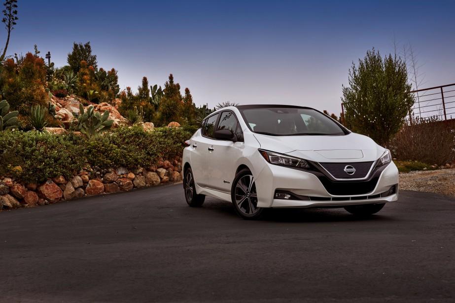 Nissan Leaf 2018 (La Presse)