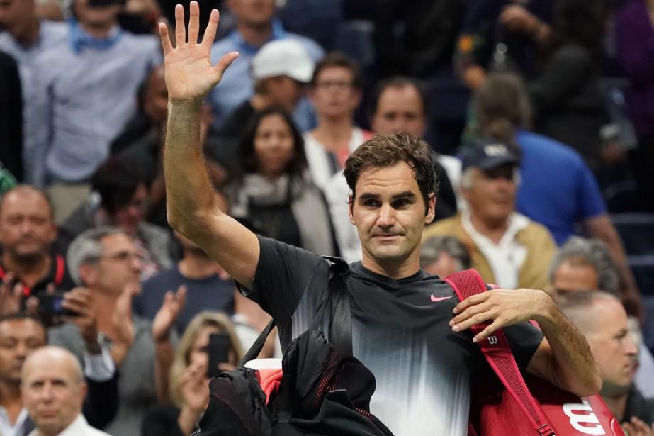 Roger Federer a été éliminé en quarts de... (Photo Don Emmert, AFP)