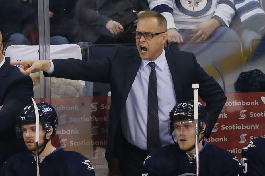 L'entraîneur-chef des Jets de Winnipeg, Paul Maurice.... (Photo Bruce Fedyck, USA Today Sports)