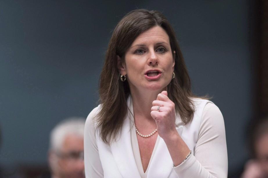 La ministre québécoise de la Justice, Stéphanie Vallée... (Photo Jacques Boissinot, archives La Presse canadienne)