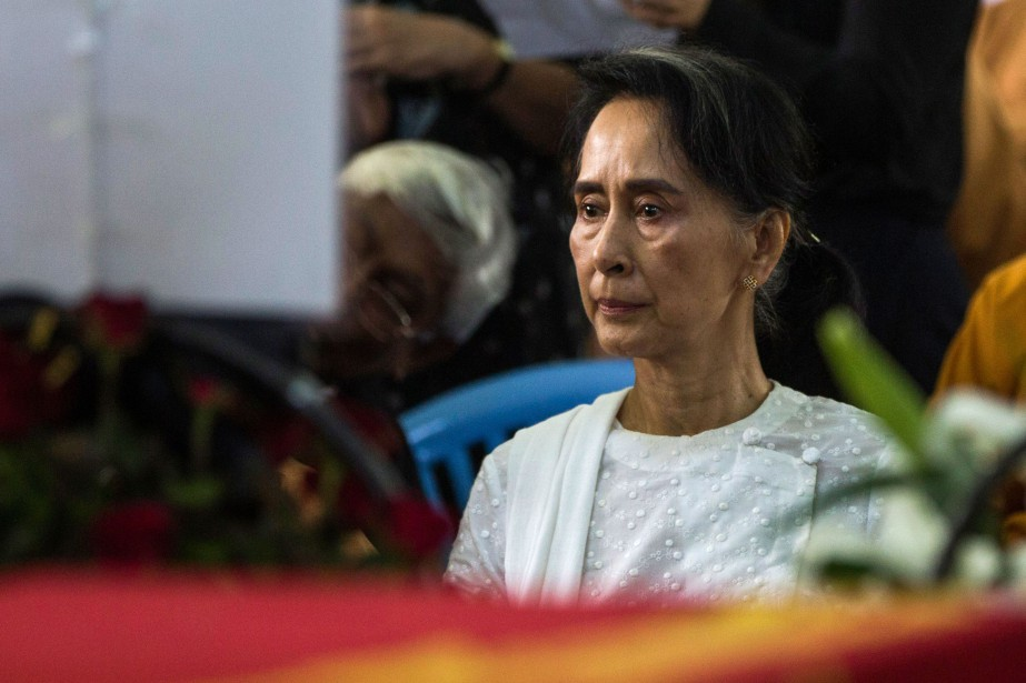 La dirigeante birmane Aung San Suu Kyi... (Archives, Agence France-Presse)
