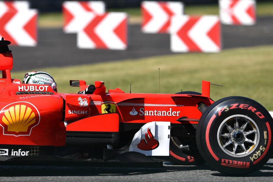 Sebastian Vettel lors du GP d'Italie le 3 septembre 2017 à Monza. (AFP)