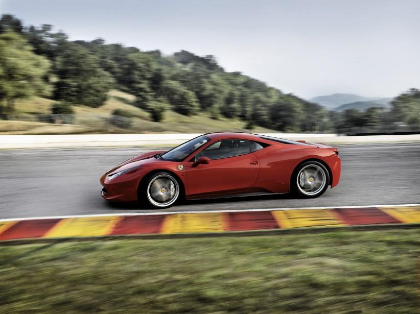 La Ferrari 458 Italia. | 8 septembre 2017