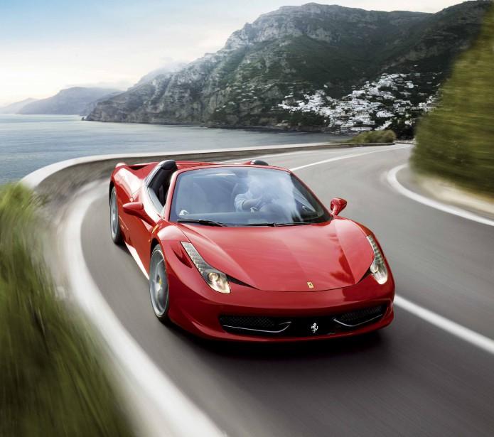 La Ferrari 458 Spider. | 8 septembre 2017