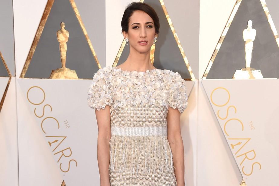 La réalisatrice franco-turque Deniz Gamze Ergüven aux Oscars... (PHOTO ARCHIVES AP)