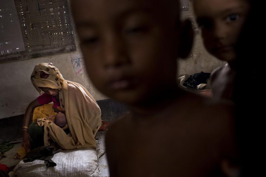 Cet exode massif a débuté le 25 août... (PHOTO Bernat Armangue, AP)