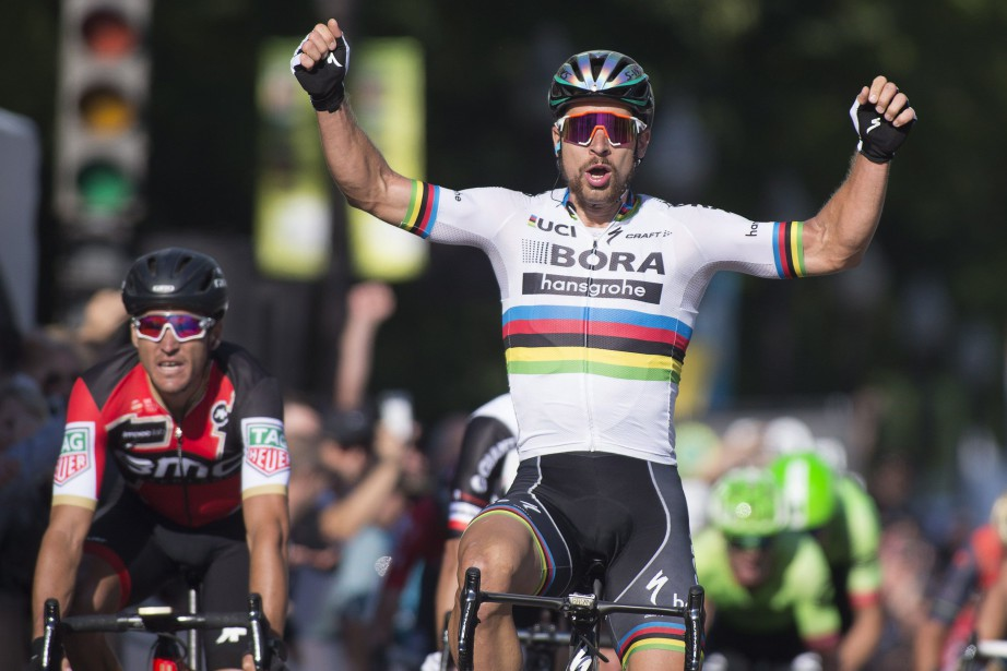 Peter Sagan... (Photo La Presse canadienne)