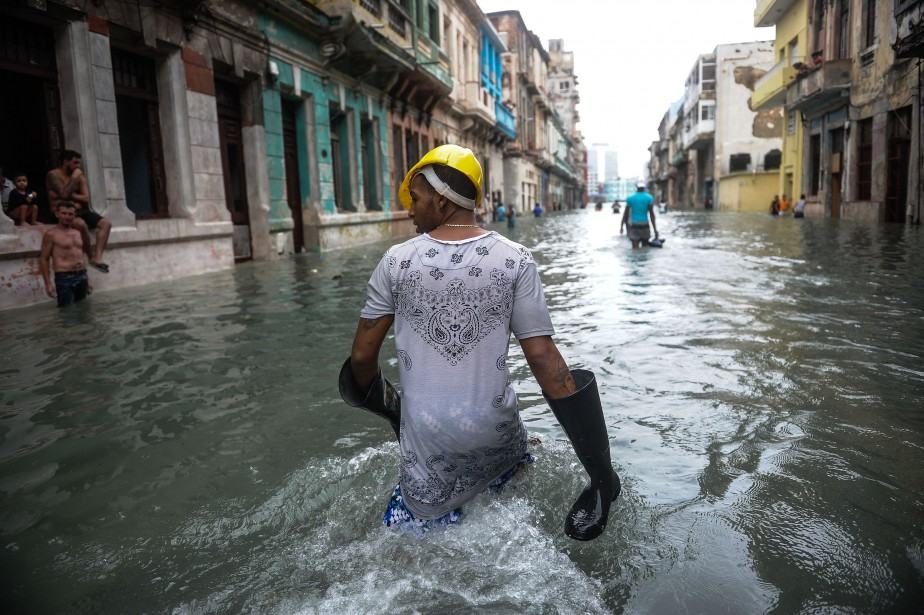 La capitale cubaine, qui borde le détroit de... (Photo Yamil Lage, Agence France-Presse)