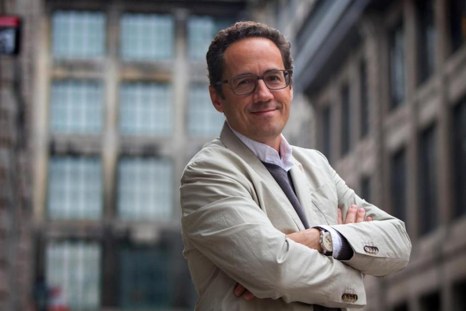 Le sommelier et auteur québécois François Chartier s'est... (PHOTO OLIVIER JEAN, LA PRESSE)