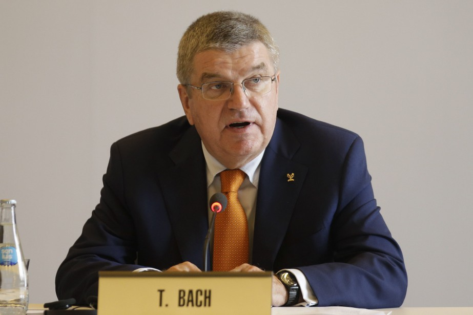 Le président du Comité international olympique, Thomas Bach.... (Photo Martin Mejia, AP)