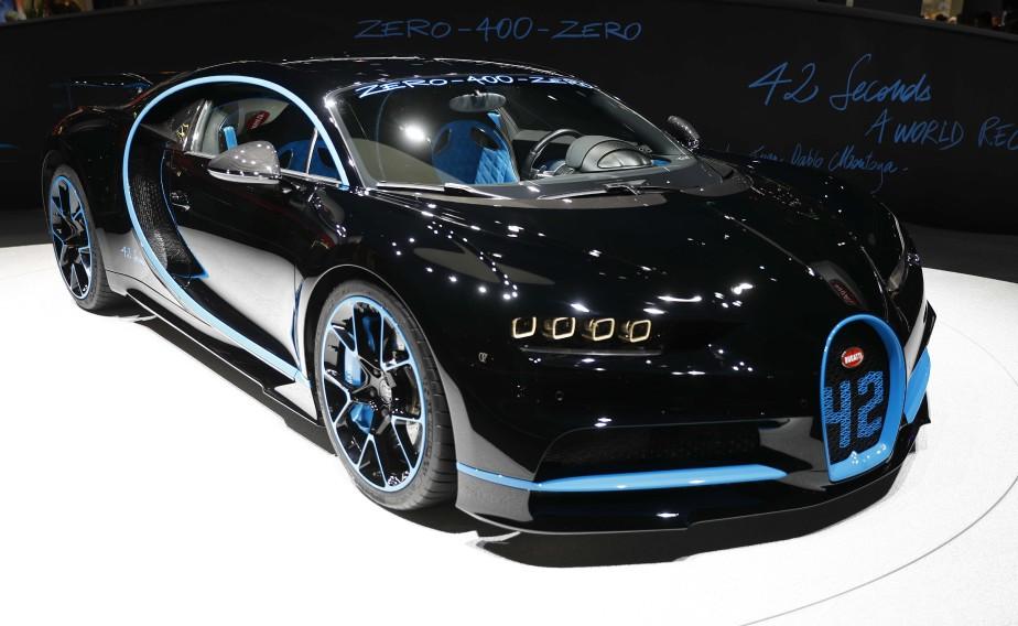 Une Bugatti Zero 400 Zero. (REUTERS)