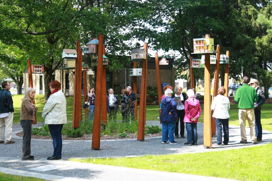 La métamorphose du parc Pelletier, à Granby, a été célébrée... | 2017-09-11 00:00:00.000