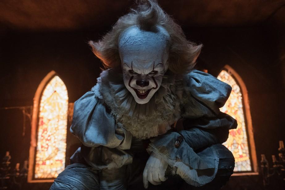 Bill Skarsgard incarne le clown maléfique dans It.... (Photo fournie par Warner Bros. Pictures)