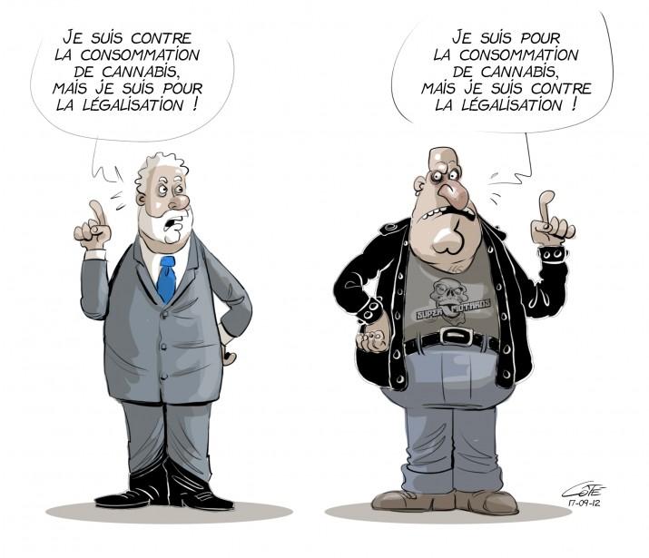 Caricature du 12 septembre (Le Soleil, André-Philippe Côté)