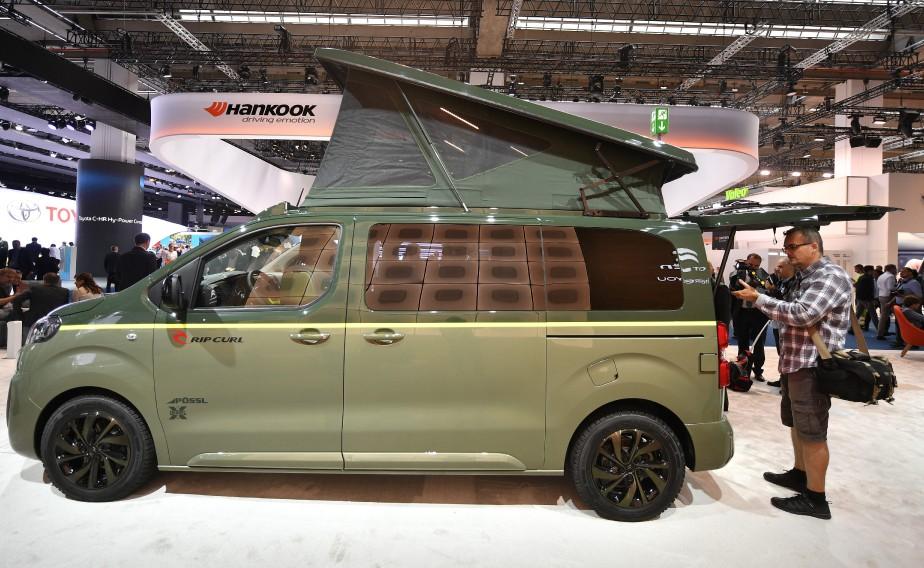 <strong>Camping -</strong> Un Citroën Space Tourer Rip Curl. (AP)