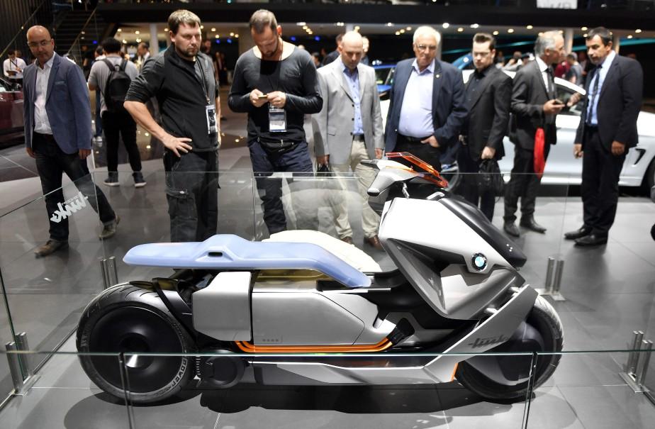 <strong>Deux roues -</strong> Une moto urbaine BMW Concept Link (AP)