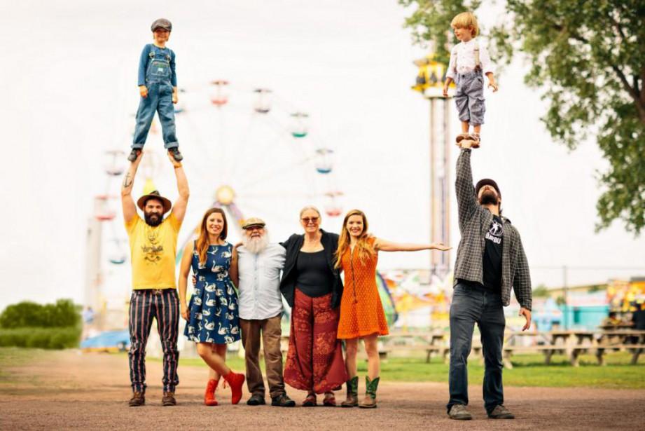 Cirque Alfonse:une affaire de famille... (Photo fournie par ICI ARTV)