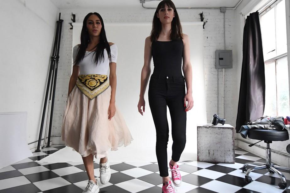 Peche Di,fondatrice de l'agence de mannequins transgenres Trans... (PHOTO AFP)