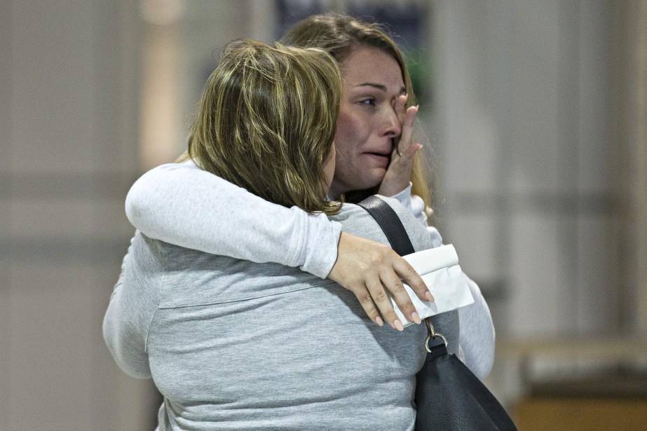 Environ 370touristes canadiens qui étaient encore coincés à Saint-Martin et aux îles Turques-et-Caïques depuis le passage de l'ouragan<em>Irma</em>sont finalement rentrés au pays, soulagés après des moments d'angoisse. (Photo Patrick Sanfaçon, La Presse)