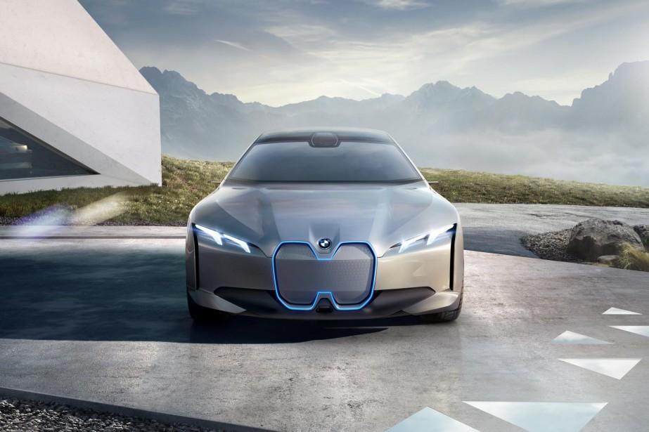 La BMW i Vision Dynamics. | 12 septembre 2017