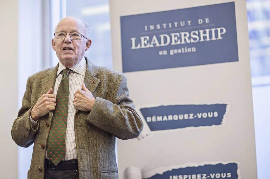 Bernard Landry est l'un des intervenants de renom de l'Institut de leadership en gestion  | 12 septembre 2017