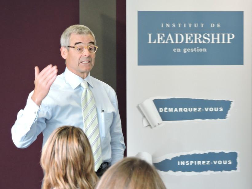 Pierre Boivin de Claridge est l'un des intervenants de renom de l'Institut de leadership en gestion | 12 septembre 2017