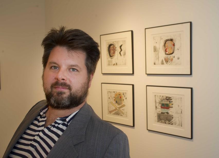 David Lafrance, un artiste mutidisciplinaire, expose au Centre de diffusion... | 2017-09-12 00:00:00.000