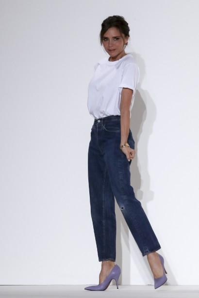 La designer Victoria Beckham | 13 septembre 2017