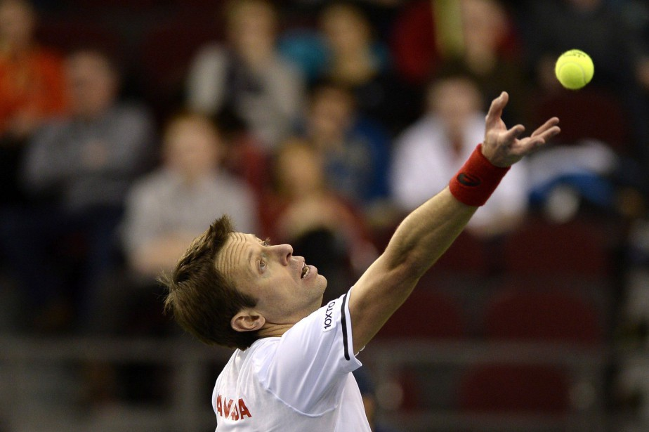 Daniel Nestor, qui est âgé de 45 ans,... (THE CANADIAN PRESS)