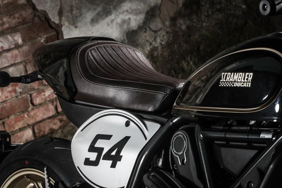Ducati Scrambler Café Racer (Photo : Ducati)