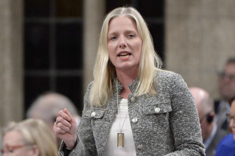 La ministre de l'Environnement, Catherine McKenna.... (PHOTO PC)