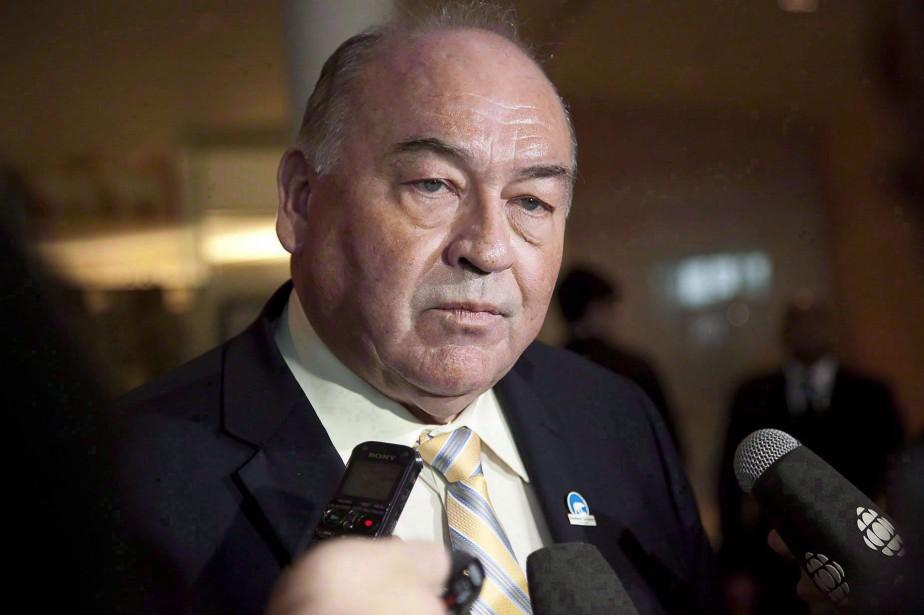 Le premier ministre des Territoires du Nord-Ouest, Bob... (ARCHIVES PC)