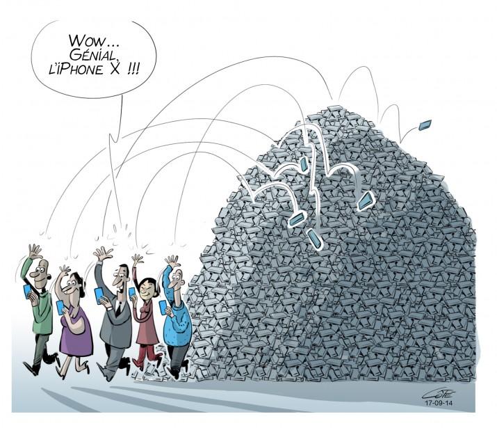 Caricature du 14 septembre (Le Soleil, André-Philippe Côté)