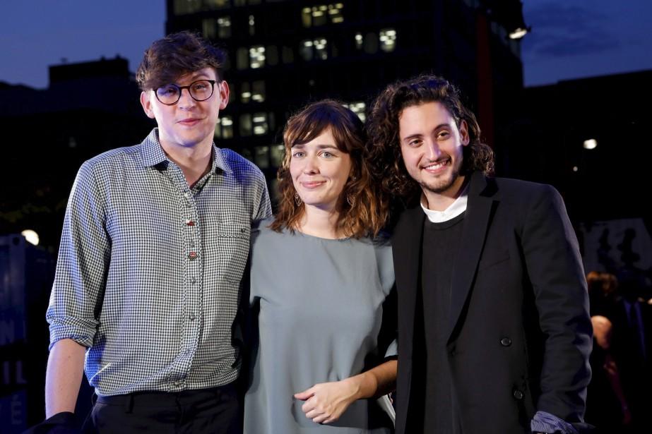 Les membres du jury de la compétition courts métrages : Niels Putman (critique de cinéma et programmateur), Sophie Goyette (cinéaste) et Lou-Pascal Tremblay (comédien et réalisateur).  | 13 septembre 2017