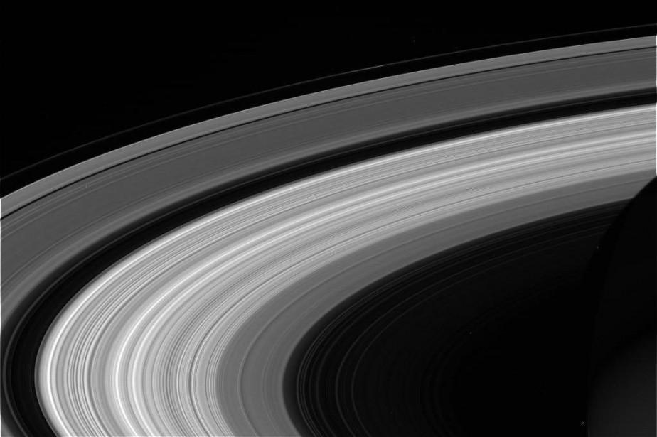 Image prise avec des filtres CL1 et RED... (Photo NASA/JPL-Caltech/Space Science Institute via AP)