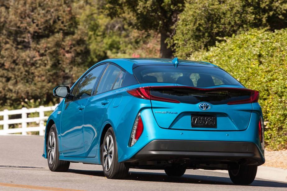 LaToyota Prius Prime (Photo fournie par Toyota)